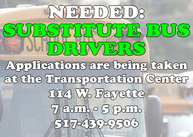 Sub Bus Drivers Needed!